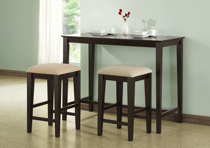 Dining Table 24 X 48 Cappuccino Counter Height Dining Tables
