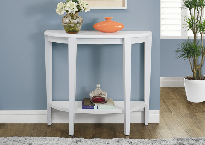 Awesome Accent Table 36L White Hall Console Interior Design Ideas Inesswwsoteloinfo